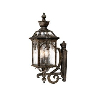 Check Prices Applebaum 3-Light Outdoor Sconce By Astoria Grand
