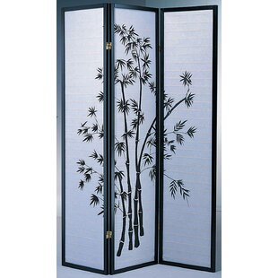 Koury 3 Panel Room Divider by World Menagerie