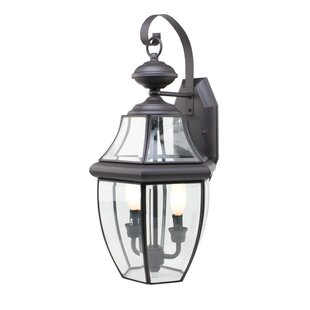 Thiel 2-Light Outdoor Wall Lantern