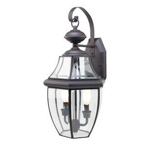 Thiel 2-Light Outdoor Wall Lantern