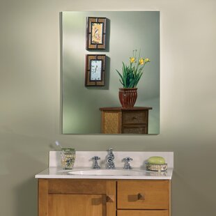 Reviews Metro 15 x 35 Recessed or Surface Mount Medicine Cabinet By Jensen