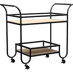 Alanson Bar Cart by 17 Stories