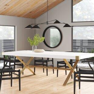 Modern Gold Dining Tables Allmodern