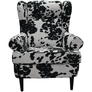 Wise Wingback Chair by Loon Peak