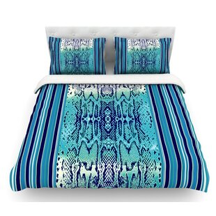 Snake by Nina May Featherweight Duvet Cover