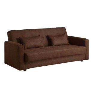 Purchase Garrow Microfiber Convertible Sofa by Red Barrel Studio Reviews (2019) & Buyer's Guide