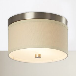 Leopardus 2-Light Flush Mount