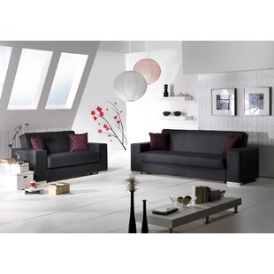 Kobe 2 Piece Living Room Set by Decor+