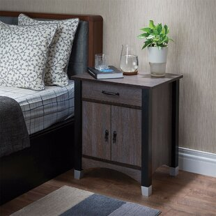 Compare Kellogg 1 Drawer Nightstand by Ebern Designs