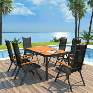 Balmer 6 Seater Dining Set By Sol 72 Outdoor