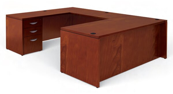 offices to go ventnor u shaped executive desk wayfair rh wayfair com u shaped executive desk with hutch u shaped executive desk canada