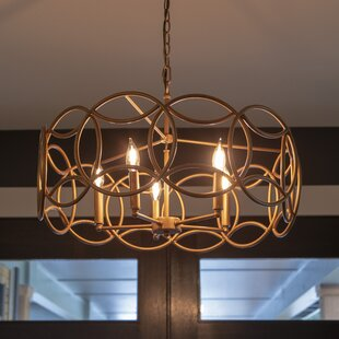 Wrought Studio Berna 5-Light Novelty Pendant