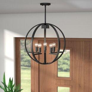 Jaiden 5-Light Globe Chand..