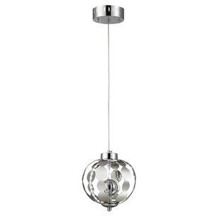 Hecker Metal 6-Light Globe Pendant by Orren Ellis