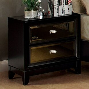 Compare & Buy Karcher 2 Drawer Nightstand ByMercer41