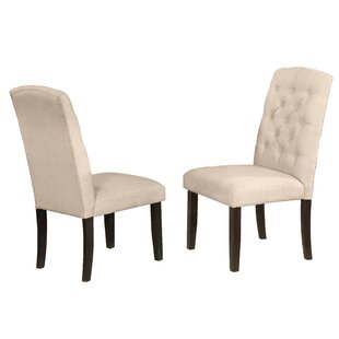 Greenwald Upholstered Dining Chair (Set of 2)