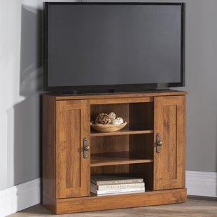 huge selection of 73253 196e1 Reclaimed Wood Corner Tv Stand | Wayfair