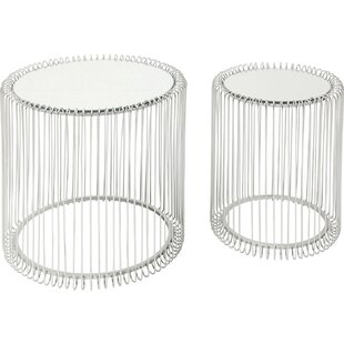 Wire 2 Piece Nest Of Tables By KARE Design