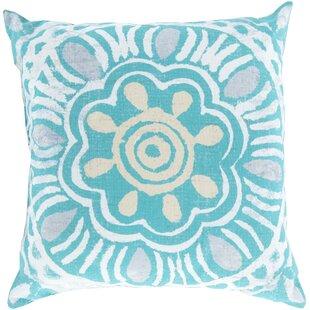 Amelia Sweet Sunburst Indoor/Outdoor Throw Pillow