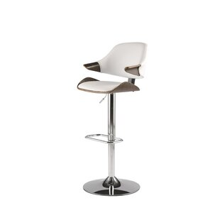 Dinh Adjustable Height Swivel Bar Stool b..