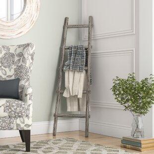 Lianes 5 Step 5 ft Decorative Blanket Ladder ByBirch Lane™
