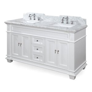 Bathroom Vanities Double Sink 60 Inches 60 inch bathroom vanities you'll love | wayfair