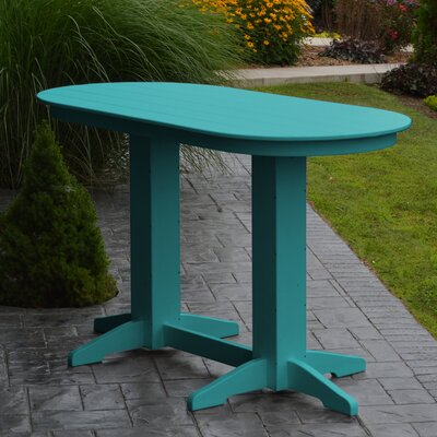 Nettie Plastic/Resin Dining Table by Red Barrel Studio Amazing