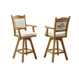Corona 48 Swivel Bar Stool (Set of 2) by ECI Furniture