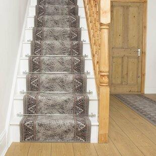 Altus Grey Stair Runner By Rosalind Wheeler