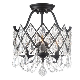 Designers Fountain Ravina 3-Light Semi Flush Mount