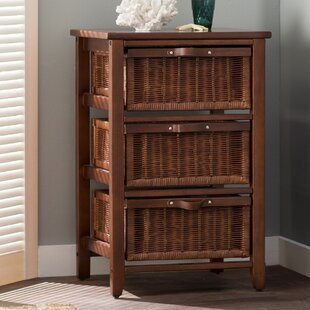 Beachcrest Home Jetta 3 Drawer Accent Chest