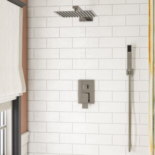 Rebrilliant Cahoon Diverter Complete Shower System with Rough-In Valve