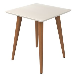 Lemington End Table with Splayed Wooden Legs
