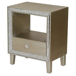 Bon Marche End Table With Storage by Heather Ann Creations