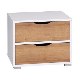 Mayolet 2 Drawer Bedside Table By 17 Stories