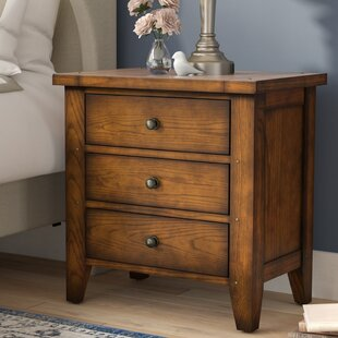 Darby Home Co Beamond 3 Drawer Nightstand