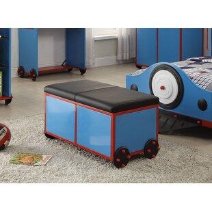 Zoomie Kids Nala Metal Storage Bench