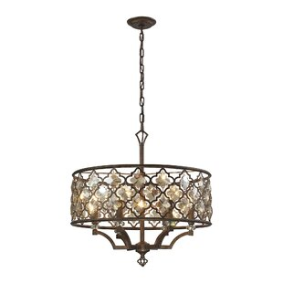 Bungalow Rose Cresson 6-Light Pendant