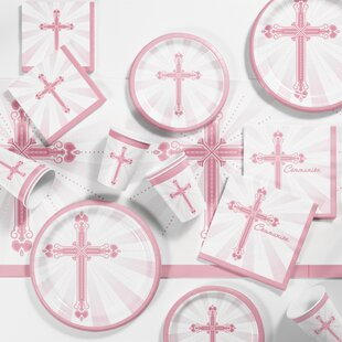 Communion Blessings Plastic Appetizer/Dinner Plate