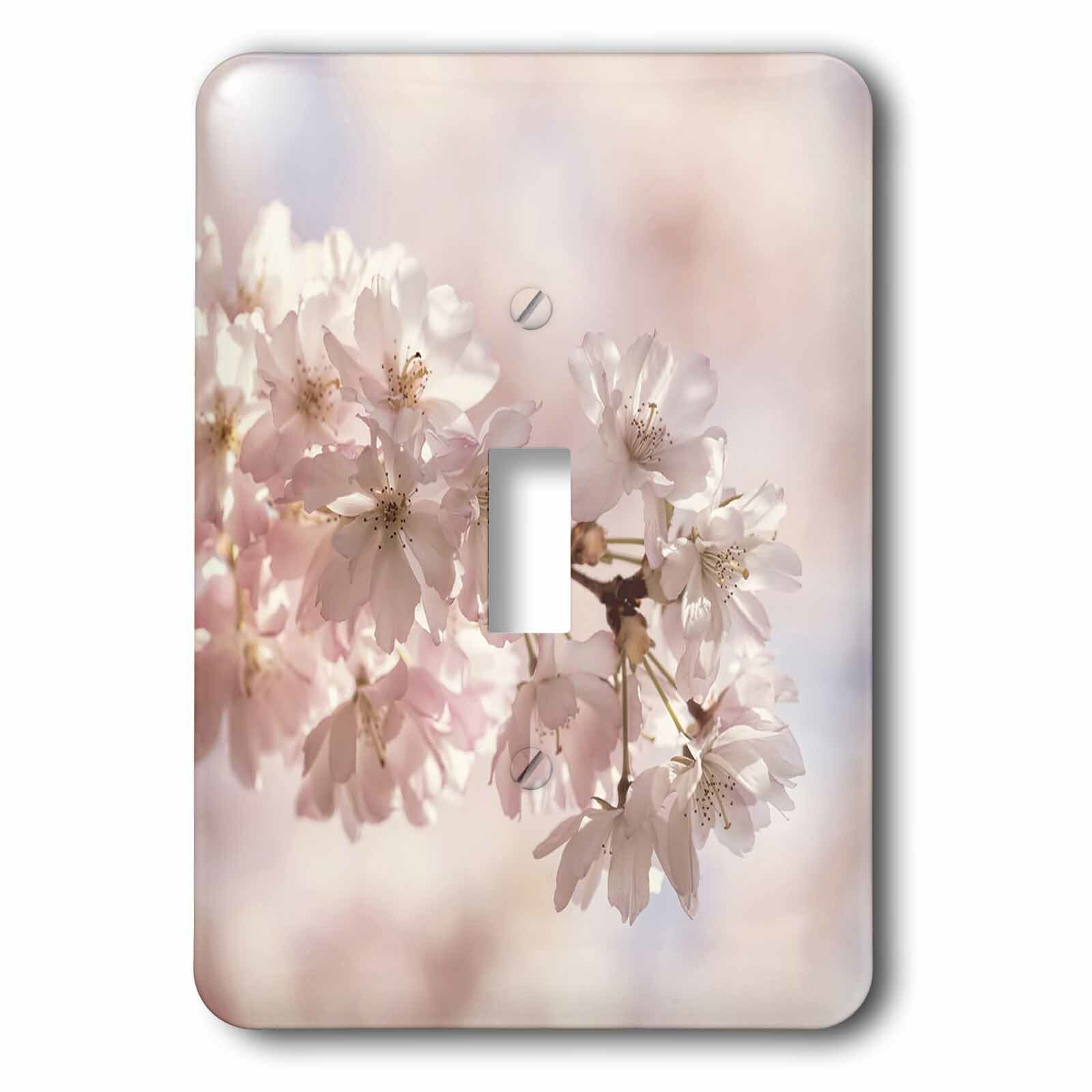 3drose Asian Cherry Blossoms 1 Gang Toggle Light Switch Wall Plate Wayfair