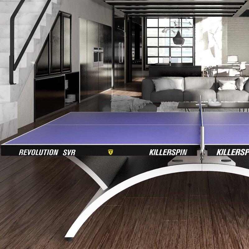 Killerspin Revolution SVR Indoor Table Tennis Table Wayfair
