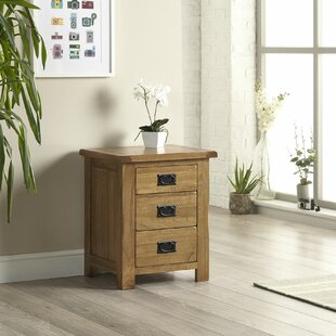 Hammons 3 Drawer Bedside Table By Union Rustic