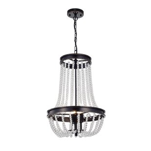 Tourad Vase 3-Light Empire Chandelier by Ophelia & Co.