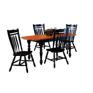 Banksville 5 Piece Dining Set Loon Peak