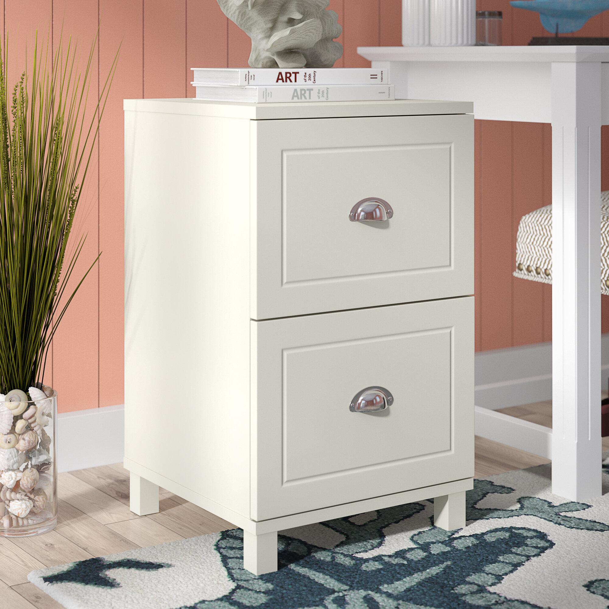 Beachcrest Home Orange City 2 Drawer Filing Cabinet & Reviews | Wayfair