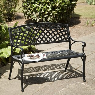 Hollander Metal Garden Bench