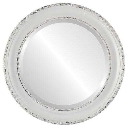 Astoria Grand Reposa Oval Traditional Beveled Accent Mirror Wayfair