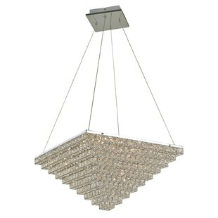 House of Hampton Iris 1-Light Inverted Pendant