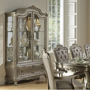 Astoria Grand Shook Lighted China Cabinet