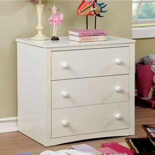 Barrell 3 Drawer Chest by Harriet Bee